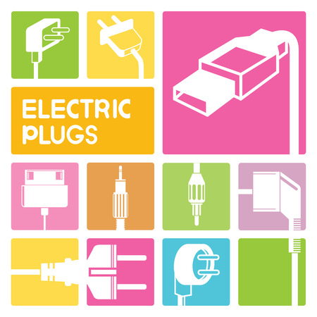 plug: electric plug