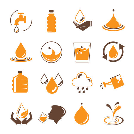 soda splash: water icons