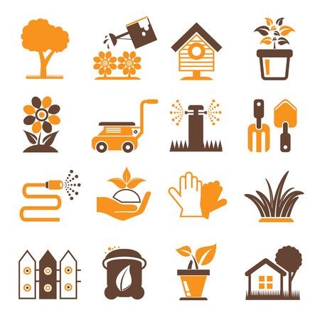 sward: plant and lawn icons