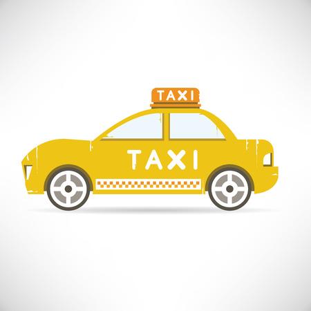 car wheels: taxi