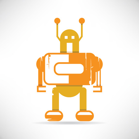 old pc: robot