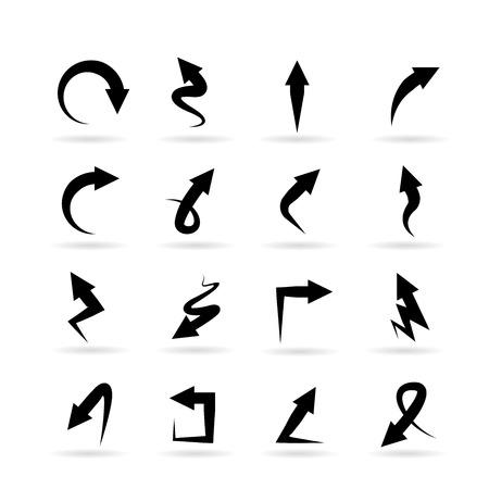 Iconos de flecha  Foto de archivo - 44760603