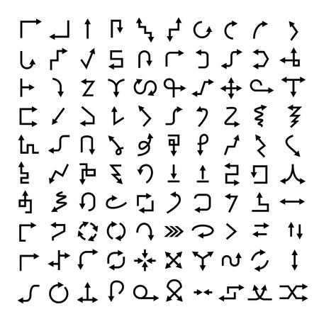 flecha: iconos de flecha