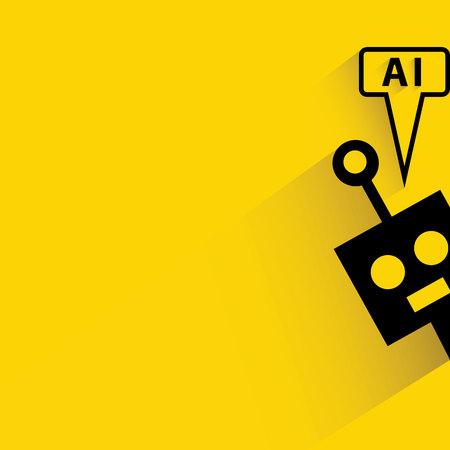 Robot, intelegence artificial Foto de archivo - 45548685