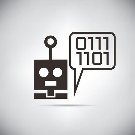 talking robot: robot