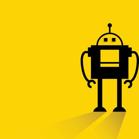 robot caricatura: