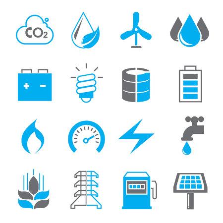 iconos energ�a: