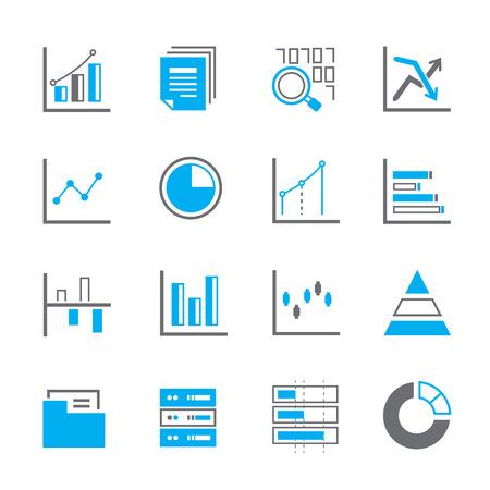 stat: data icons