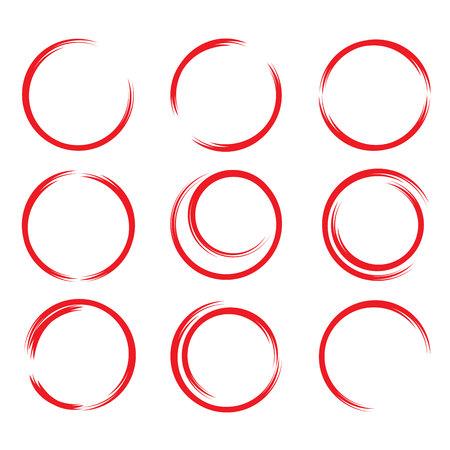 selection box: red hand drawn circles
