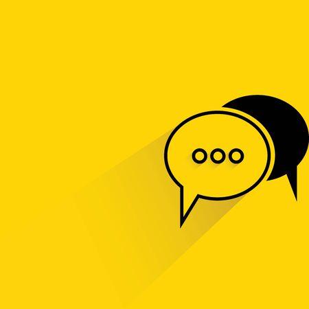 announcement: bubble speech