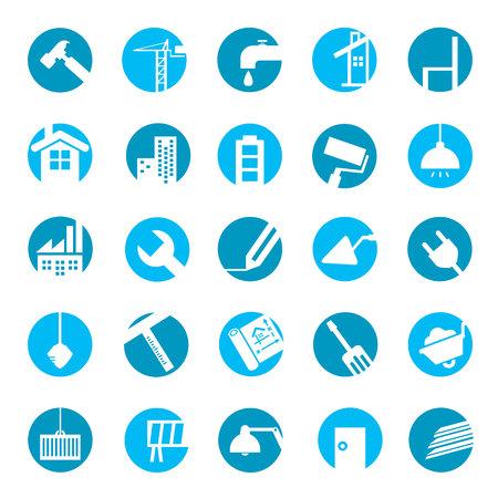 construction tools icons Illustration
