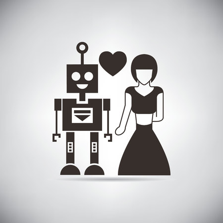 mate married: robot fall in love
