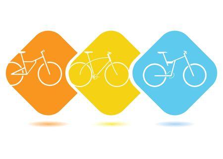 spoke: bicycle Illustration