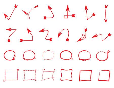 highlight: highlight circles, arrows, frames