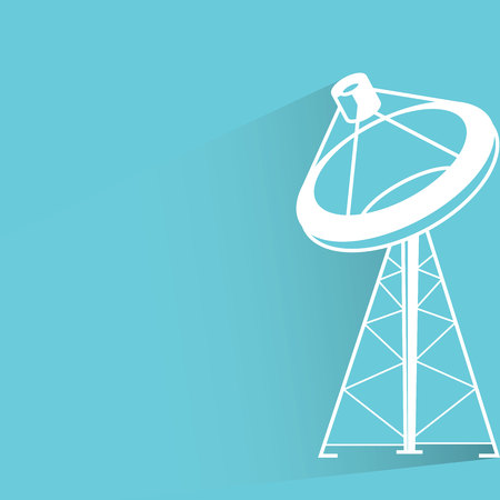 radar: antenna, radar Illustration