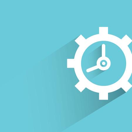 gear shape: clock gear shape