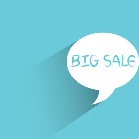 big sale: big sale promotion message