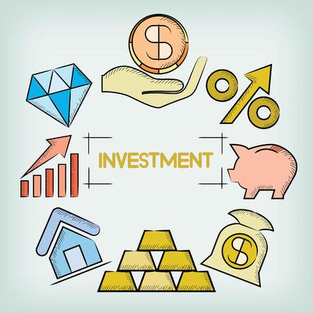concepto de inversión