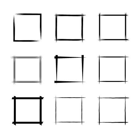 scrawl: hand drawn frames