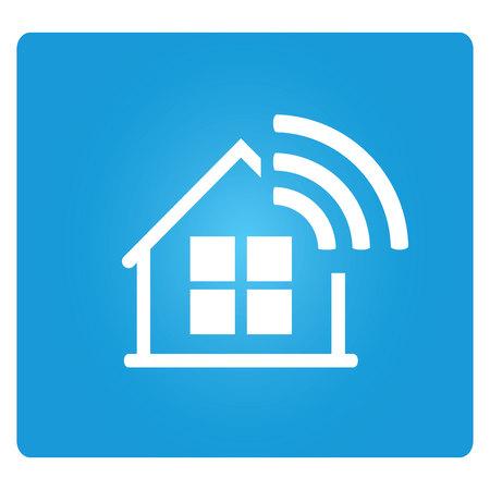 wifi: internet home Illustration