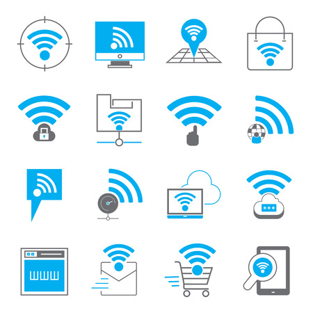 ethernet: network icons