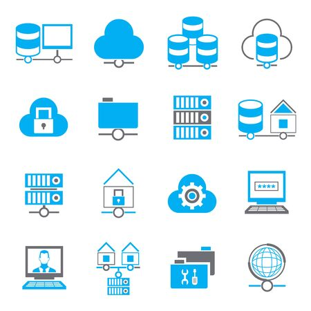database: database icons