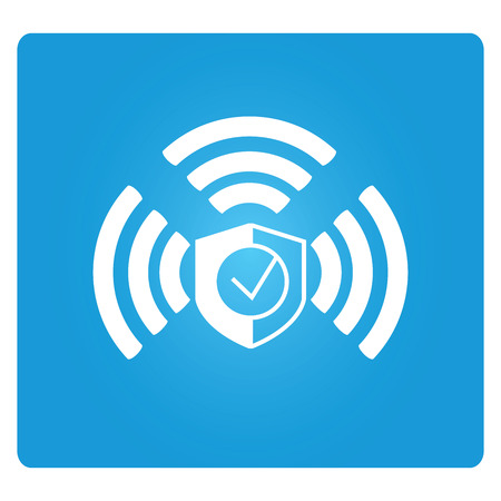 wifi: security wifi Illustration