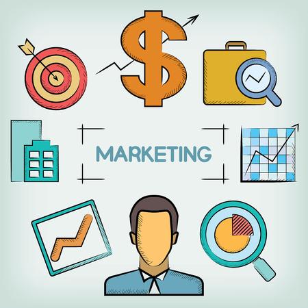 surrendering: marketing concept