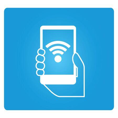 mobile internet: mobile internet Illustration