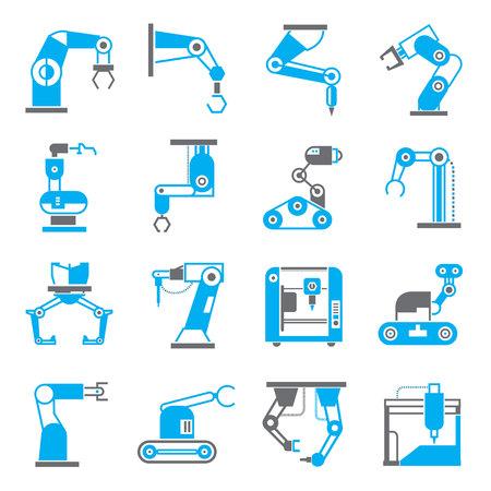 robotic: robotic arm icons