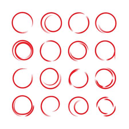 emphasis: hand drawn circles
