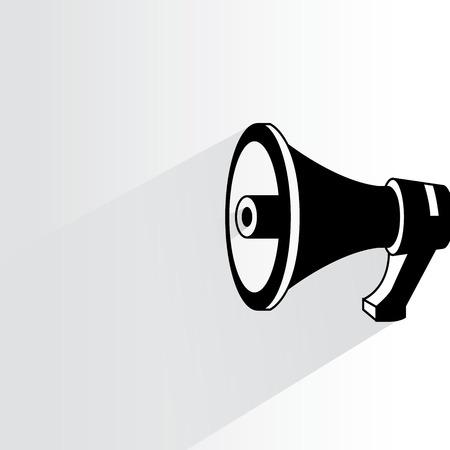speak: megaphone Illustration