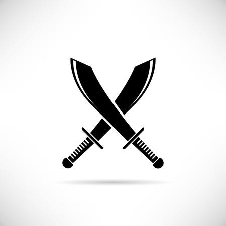 swordsmanship: swords Illustration
