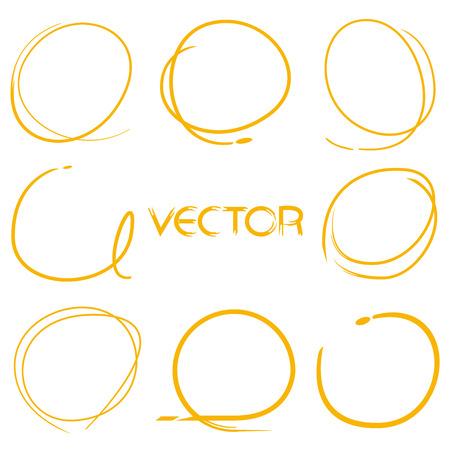 rotulador: marcador, marcador del marco, marcador dibujado a mano