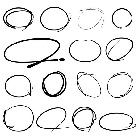 circles: highlight markers circles