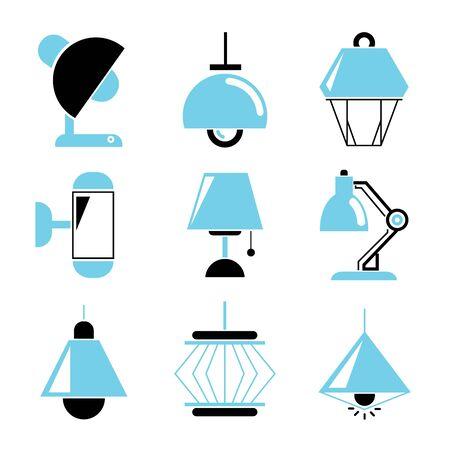 lampada: Icone della lampada