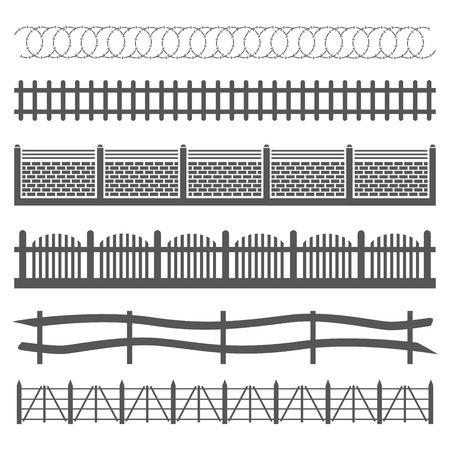 hillbilly: fences Illustration