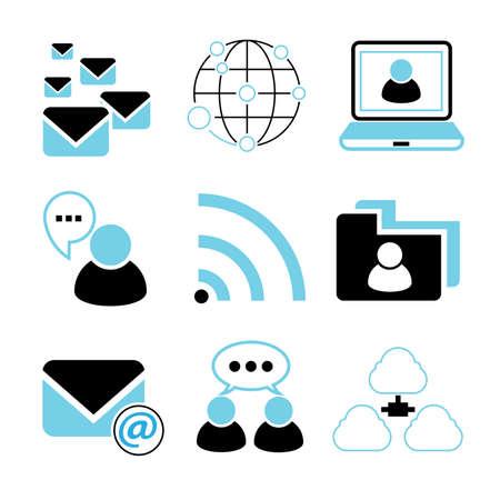 hangout: social network icons
