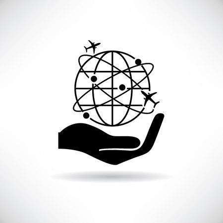 globalization: globalization, travel concept