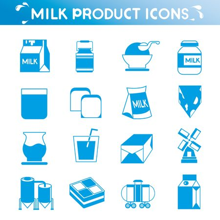 blue cheese: milk icons