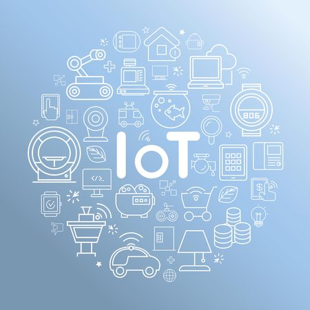 house icon: internet of things