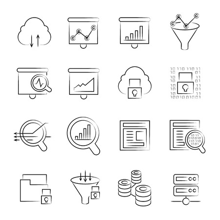 scrutiny: data icons