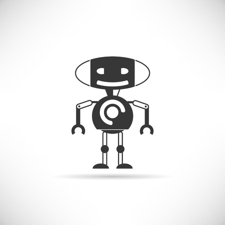 vector art: robot