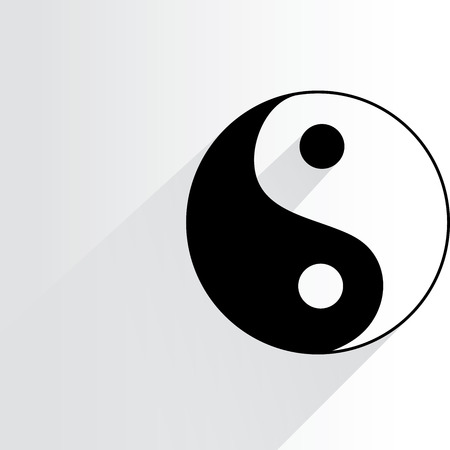 taoist: Yin Yang symbol Illustration