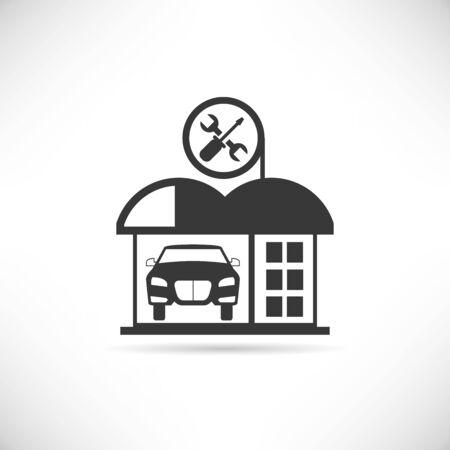 garage door: garage, car service station