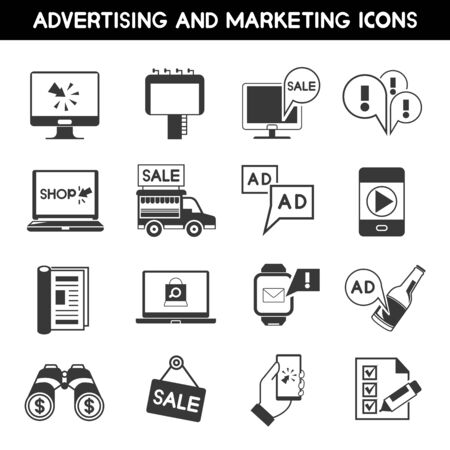 ad: advertising icons