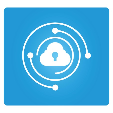 cloud security Vectores
