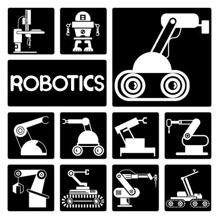 robotics: robotics icons