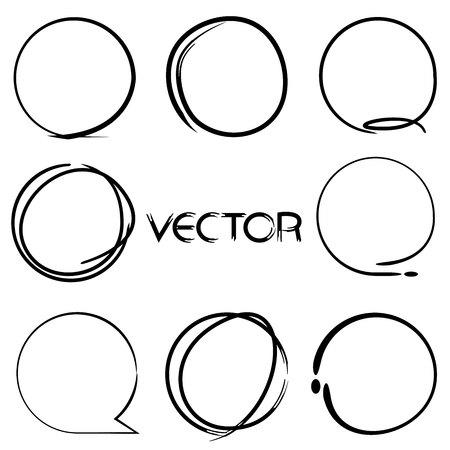 marker: estos marcadores forma de círculo