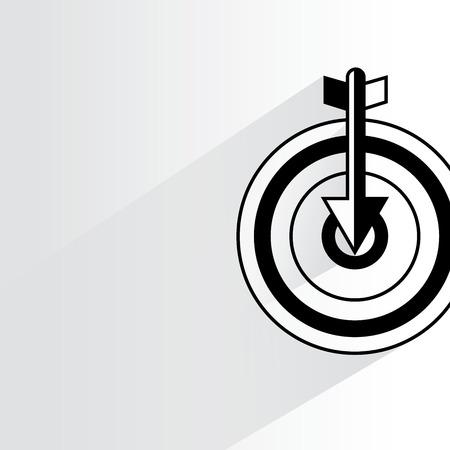 exploit: dart and arrow Illustration